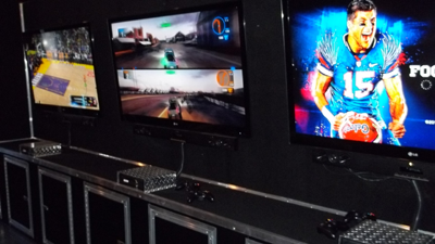 video gaming mobile theater