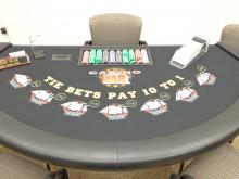 Casino tables, slot machines and other equipment