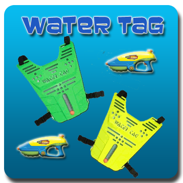 Water Tag parties rental