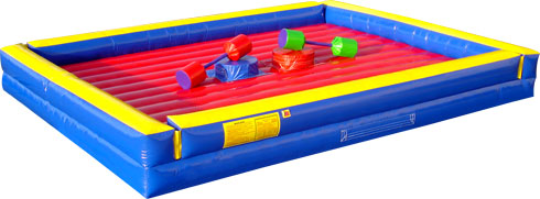 Pedestal Joust inflatable fun for your next Cleveland party!